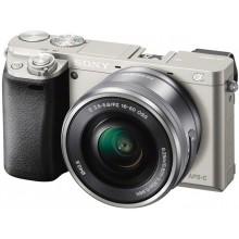 Цифровой фотоаппарат Sony Alpha 6000 kit 16-50mm Silver