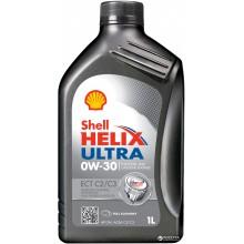 Моторное масло Shell Helix Ultra ECT C2/C3 0W-30 1л