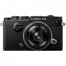 Цифровой фотоаппарат Olympus PEN-F 17mm 1:18 Kit Black/Black