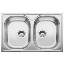 Кухонная мойка Blanco TIPO 8 Compact stainless steel matt 513459