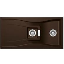 Кухонная мойка Schock WATERFALL D150 Chocolate-86