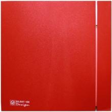 Вытяжной вентилятор Soler&Palau SILENT-200 CZ RED DESIGN - 4C