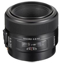 Объектив Sony 50mm, f/2.8 Macro DSLRA100