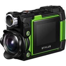 Action камера Olympus TG-Tracker Green (Waterproof - 30m; Wi-Fi; GPS)
