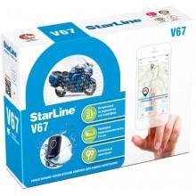 Автосигнализация StarLine V67 MOTO