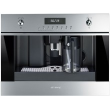 Встраиваемая кофеварка Smeg CMS6451X