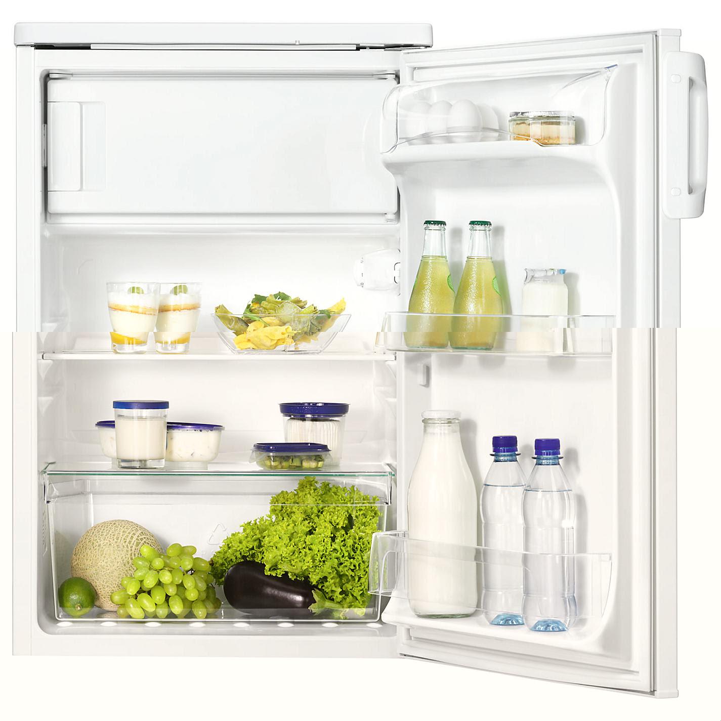 однокамерный холодильник Занусси