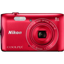 Цифровой фотоаппарат Nikon Coolpix A300 Red