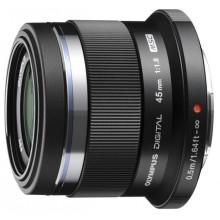 Объектив Olympus ET-M4518 45mm 1:1.8 Black