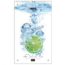 Газовая колонка Zanussi GWH 10 Fonte Glass Lime