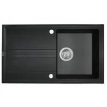 Кухонная мойка Perfelli CAPIANO PGC 1141-86 BLACK METALLIC