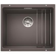 Кухонная мойка Blanco ETAGON 500-U SILGRANIT dark rock 522228