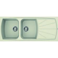 Кухонная мойка Elleci Living 500 bianco antico 62