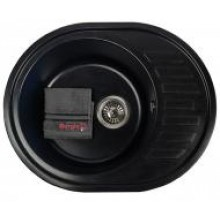 Кухонная мойка Borgio OVM-620x500 (black)