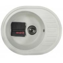 Кухонная мойка Borgio OVM-620x500 (white)