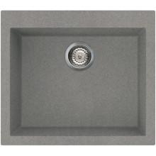 Кухонная мойка Elleci Q 105 on top titanium 73