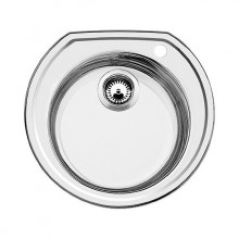 Кухонная мойка Blanco RONDOVAL stainless steel decor 513314