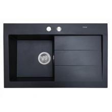 Кухонная мойка Perfelli SOLO PGS 118-80 BLACK
