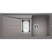 Кухонная мойка Blanco SONA 6S SILGRANIT dark rock 519853