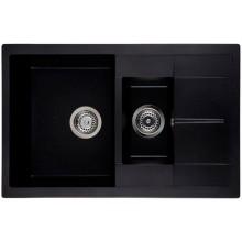 Кухонная мойка Interline STILOS black