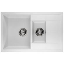 Кухонная мойка Interline STILOS white