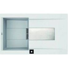 Кухонная мойка Elleci Sirex 400 E white 96