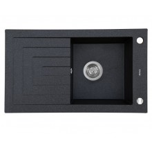 Кухонная мойка Perfelli AZZURO PGA 1151-78 BLACK METALLIC
