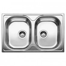 Кухонная мойка BLANCO TIPO 8 COMPACT C stainless steel 517155