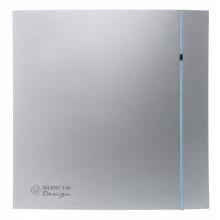 Вытяжной вентилятор Soler&Palau SILENT-300 CZ SILVER DESIGN -3C