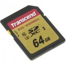 Transcend Ultimate 633x SDXC UHS-I U3  64ГБ