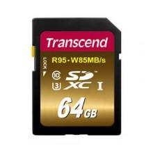 Transcend Ultimate SDXC UHS-I U3  64ГБ