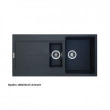 Кухонная мойка Fabiano Classic 100x50x15 (Antracit)