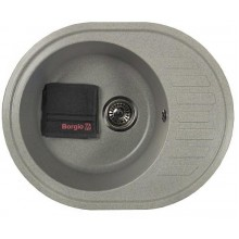 Кухонная мойка Borgio OVM-620x500 (grey)