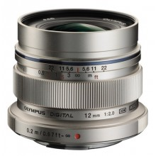 Объектив Olympus EW-M1220 ED 12mm 1:2.0 Black