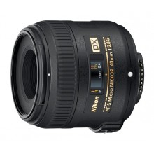 Объектив Nikon 40mm f/2.8G ED AF-S DX Micro NIKKOR