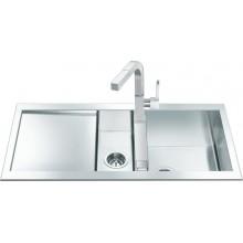 Кухонная мойка Smeg LQR100-2
