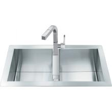 Кухонная мойка Smeg LQR862F-2