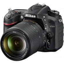 Цифровой фотоаппарат Nikon D7200 kit 18-105 VR Black