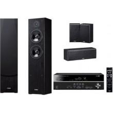 Домашний кинотеатр Yamaha Kino SYSTEM 381 (RX-V381  NS-F51  NS-P51) Black