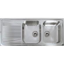 Кухонная мойка Elleci RIVER 500 DX SATINATO