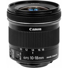 Объектив Canon EF-S 10-18mm f/45-56 IS STM