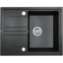 Кухонная мойка Perfelli SILVE PGS 1341-64 BLACK METALLIC