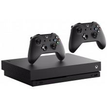 Игровая приставка Microsoft Xbox One X + NBA 2K18 + 2 pady
