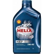 Моторное масло Shell Helix HX7 5W-40 1L