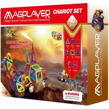 Конструктор Magplayer Chariot Set MPB-40