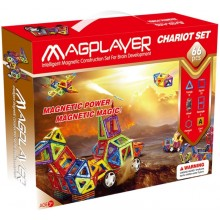 Конструктор Magplayer Chariot Set MPA-66