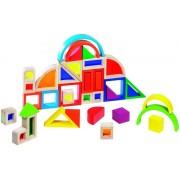 Goki Rainbow Building Bricks with Windows 58620