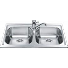 Кухонная мойка Smeg LXP862 860х500мм