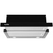 Вытяжка VENTOLUX Garda 60 BK 1000 LED черный