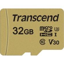 Transcend microSDHC 500S  32ГБ